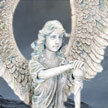Cold Cast Stone Resin Angel Michah 7458 Statues by YTC Summit,