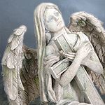 Cold Cast Stone Resin Angel Lofiel 7456 Statues by YTC Summit,