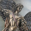 Cold Cast Bronze Resin Statue St. Michael Archangel 7367 by YTC Summit