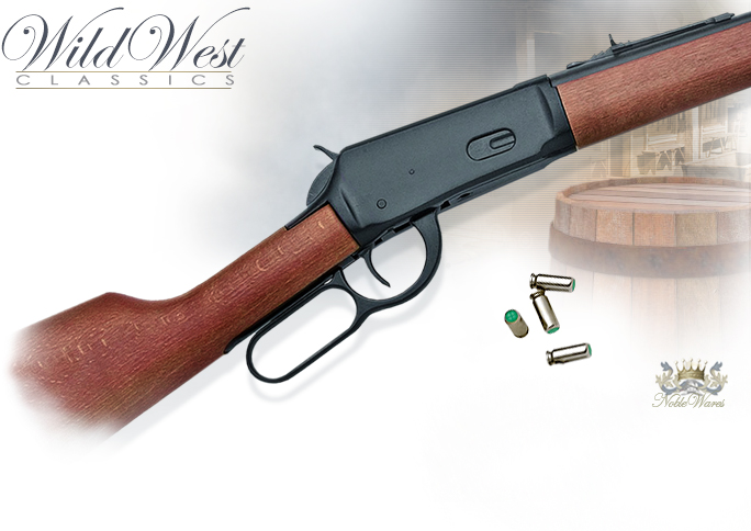 NobleWares Image of Old West M1894 8mm Blank Firing replica Western Rifle 38-650