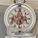 Great Native American Chief's Thunderbird Pocket Watch SXP234 by Infinity