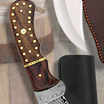 Legends In Steel Damascus Crusader Bowie UC3061 by United Cutlery