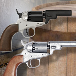 COLT 1849 Pocket Pistol 1259NQ Blued, and 1259G Gray finish by Denix