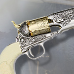General Custer's 1861 .36 caliber Navy Revolver CA805 by Collector's Armoury