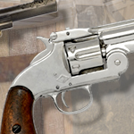 M1869 Schofield Single Action Western non-firing Replica Revolver 22-1008N by Denix