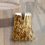 "Stag Antler Knife Display 1-1/4"" Small SVSS, 1-5/8"" Medium SVSM, 2-1/4"" Large SVSL"