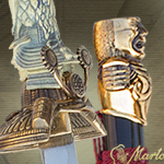 SWORD OF THE GODS TACHI 255 Bronze by MARTO OF SPAIN