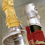 SWORD OF THE GODS TACHI 254 Silver by MARTO OF SPAIN